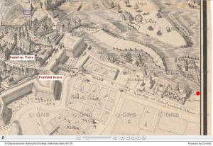Hüberova mapa Prahy 1769