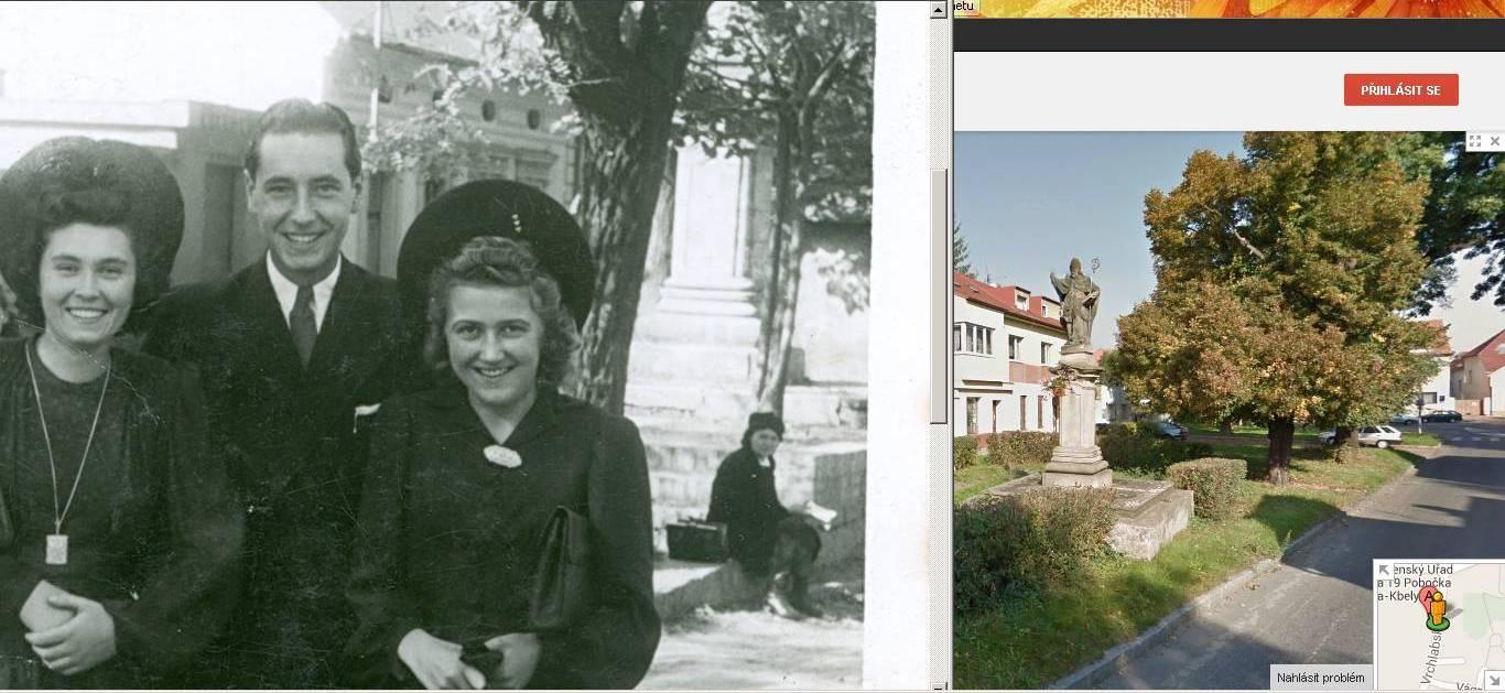 Kaple _19 porovnání s historickou fotkou