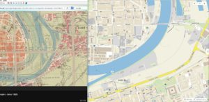 Porovnání map_1925 & 2015