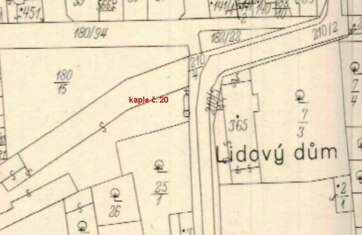 výpis_katastrální mapa_1943_kaple č 20_k